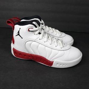 Nike Air Jordan Jumpman Pro White Red Sz 11C